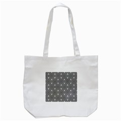Seamless Weave Ribbon Hexagonal Tote Bag (white) by Nexatart