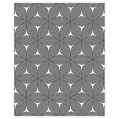 Seamless Weave Ribbon Hexagonal Drawstring Bag (small)