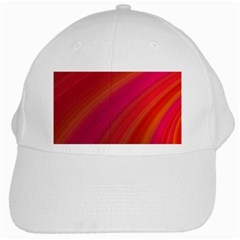 Abstract Red Background Fractal White Cap by Nexatart
