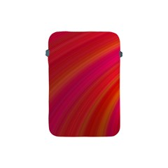 Abstract Red Background Fractal Apple Ipad Mini Protective Soft Cases