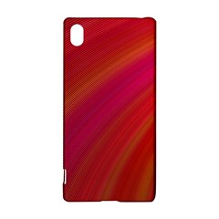 Abstract Red Background Fractal Sony Xperia Z3+ by Nexatart
