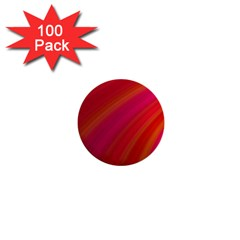 Abstract Red Background Fractal 1  Mini Buttons (100 Pack)