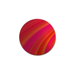 Abstract Red Background Fractal Golf Ball Marker (4 Pack)