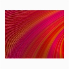 Abstract Red Background Fractal Small Glasses Cloth