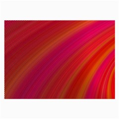 Abstract Red Background Fractal Large Glasses Cloth (2 Side)