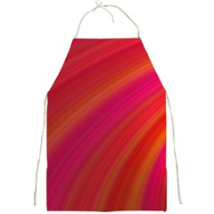 Abstract Red Background Fractal Full Print Aprons
