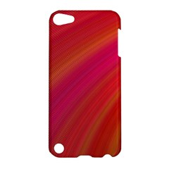 Abstract Red Background Fractal Apple Ipod Touch 5 Hardshell Case
