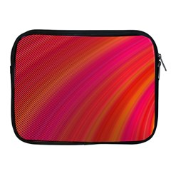 Abstract Red Background Fractal Apple Ipad 2/3/4 Zipper Cases