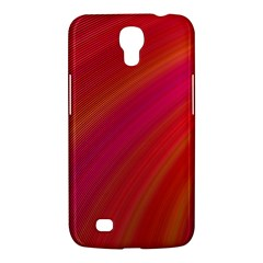 Abstract Red Background Fractal Samsung Galaxy Mega 6 3  I9200 Hardshell Case by Nexatart