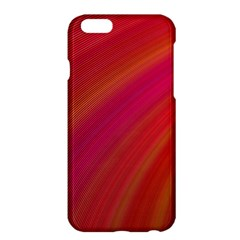 Abstract Red Background Fractal Apple Iphone 6 Plus/6s Plus Hardshell Case by Nexatart