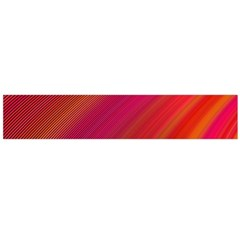 Abstract Red Background Fractal Flano Scarf (large)