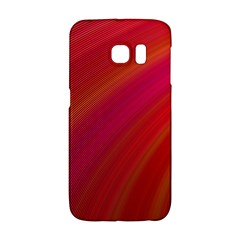 Abstract Red Background Fractal Galaxy S6 Edge