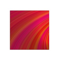 Abstract Red Background Fractal Satin Bandana Scarf