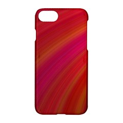 Abstract Red Background Fractal Apple Iphone 7 Hardshell Case