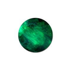 Green Space All Universe Cosmos Galaxy Golf Ball Marker (4 Pack) by Nexatart