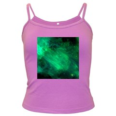 Green Space All Universe Cosmos Galaxy Dark Spaghetti Tank