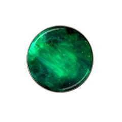 Green Space All Universe Cosmos Galaxy Hat Clip Ball Marker (4 Pack)