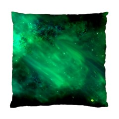 Green Space All Universe Cosmos Galaxy Standard Cushion Case (one Side) by Nexatart