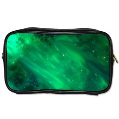 Green Space All Universe Cosmos Galaxy Toiletries Bags 2 Side by Nexatart
