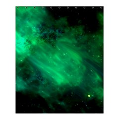 Green Space All Universe Cosmos Galaxy Shower Curtain 60  X 72  (medium)