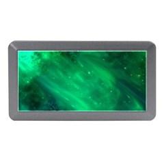 Green Space All Universe Cosmos Galaxy Memory Card Reader (mini)