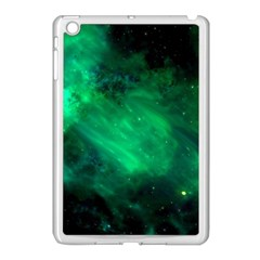 Green Space All Universe Cosmos Galaxy Apple Ipad Mini Case (white)