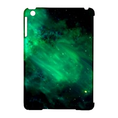 Green Space All Universe Cosmos Galaxy Apple Ipad Mini Hardshell Case (compatible With Smart Cover) by Nexatart