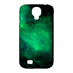 Green Space All Universe Cosmos Galaxy Samsung Galaxy S4 Classic Hardshell Case (pc+silicone)