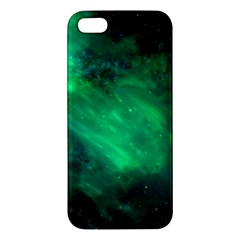 Green Space All Universe Cosmos Galaxy Iphone 5s/ Se Premium Hardshell Case by Nexatart