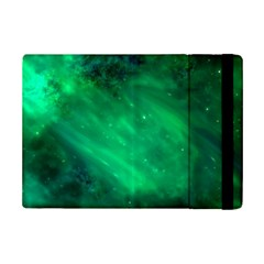 Green Space All Universe Cosmos Galaxy Ipad Mini 2 Flip Cases