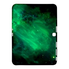 Green Space All Universe Cosmos Galaxy Samsung Galaxy Tab 4 (10 1 ) Hardshell Case