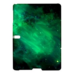 Green Space All Universe Cosmos Galaxy Samsung Galaxy Tab S (10 5 ) Hardshell Case  by Nexatart