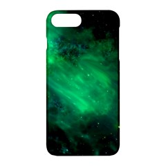 Green Space All Universe Cosmos Galaxy Apple Iphone 7 Plus Hardshell Case