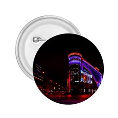 Moscow Night Lights Evening City 2 25  Buttons