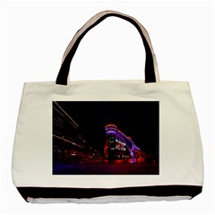 Moscow Night Lights Evening City Basic Tote Bag