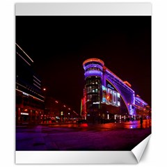 Moscow Night Lights Evening City Canvas 20  X 24