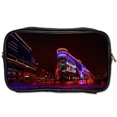 Moscow Night Lights Evening City Toiletries Bags 2 Side