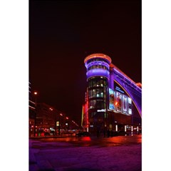 Moscow Night Lights Evening City 5 5  X 8 5  Notebooks