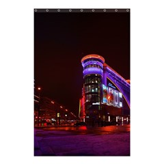 Moscow Night Lights Evening City Shower Curtain 48  X 72  (small)