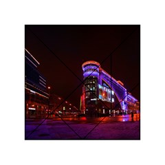 Moscow Night Lights Evening City Acrylic Tangram Puzzle (4  X 4 )