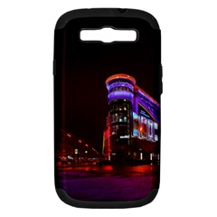 Moscow Night Lights Evening City Samsung Galaxy S Iii Hardshell Case (pc+silicone)