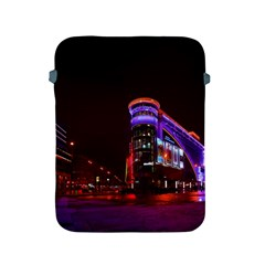 Moscow Night Lights Evening City Apple Ipad 2/3/4 Protective Soft Cases