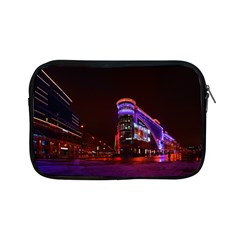 Moscow Night Lights Evening City Apple Ipad Mini Zipper Cases by Nexatart