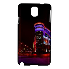 Moscow Night Lights Evening City Samsung Galaxy Note 3 N9005 Hardshell Case
