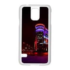 Moscow Night Lights Evening City Samsung Galaxy S5 Case (white)