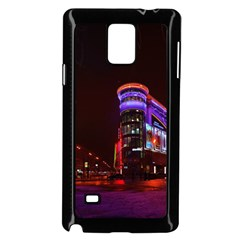 Moscow Night Lights Evening City Samsung Galaxy Note 4 Case (black)