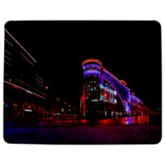 Moscow Night Lights Evening City Jigsaw Puzzle Photo Stand (rectangular)