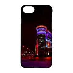 Moscow Night Lights Evening City Apple Iphone 7 Hardshell Case