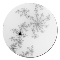 Mandelbrot Apple Males Mathematics Magnet 5  (round) by Nexatart