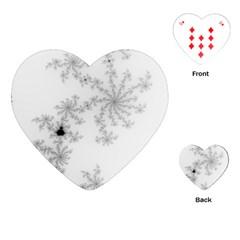 Mandelbrot Apple Males Mathematics Playing Cards (heart)  by Nexatart